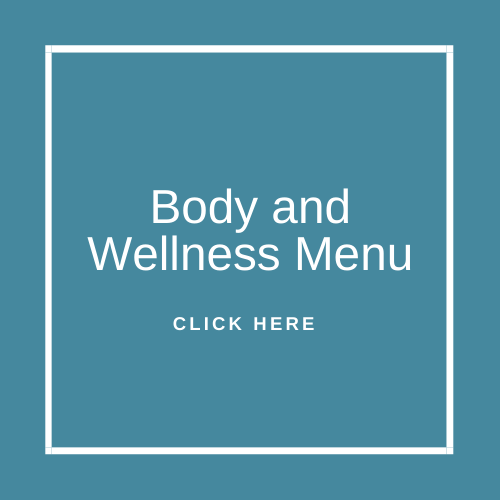 Body and Wellness Menu